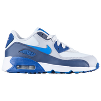 Nike Air Max 90 - Boys' Preschool - White / Blue