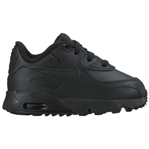 Nike Air Max 90 - Boys\u0026#39; Toddler - All Black / Black
