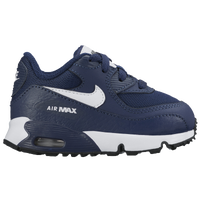 Nike Air Max 90 - Boys' Toddler - Navy / White
