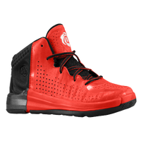 adidas D Rose 4.0 - Boys' Toddler - Red / Black