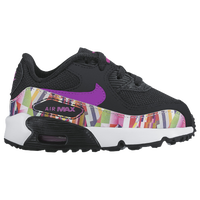 131389bdc3b43 Nike Air Max 90 - Girls  Toddler - Running - Shoes - Copa White Blue ...