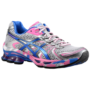 ASICS� GEL-Sendai - Women's - White/Brilliant Blue/Silver