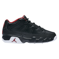 Jordan Retro 9 Low - Boys' Preschool - Black / Red