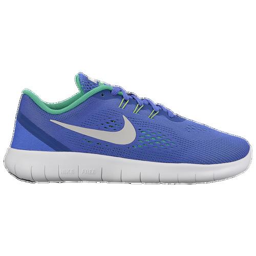 e296b633957d Nike Free RN - Boys  Preschool - Running - Shoes - Paramount Blue Pure  Platinum Stadium Green