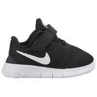Nike Free RN - Boys' Toddler - Black / White