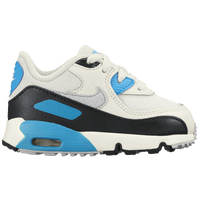 Nike Air Max 90 - Boys' Toddler - Off-White / Light Blue