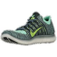 da1eac5f9c806 Nike Free Run Flyknit - Boys  Grade School - Dark Green   Light Green