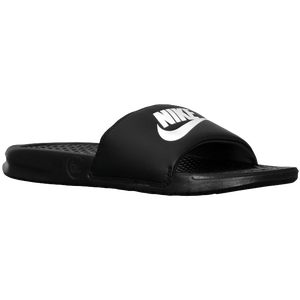 Nike Benassi JDI Slide - Men's - Black/White/Black