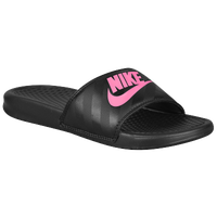 aee774ac265c7 Nike Benassi JDI Slide - Women s - Black   Pink