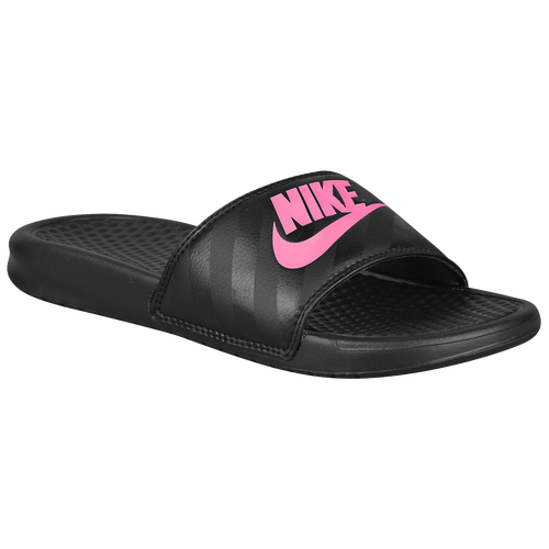 Nike Benassi Jdi Slide Women S Casual Shoes Black