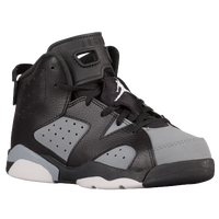 Jordan Retro 6 - Boys' Preschool - Black / White
