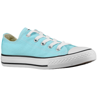 Converse All Star Ox - Girls' Preschool - Light Blue / White