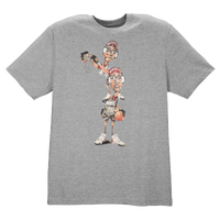 Jordan Like Father Like Son T-Shirt - Men's - Grey / Tan