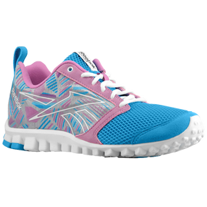 Reebok RealFlex Scream 2.0 - Women's - Tin Grey/Far Out Blue/Iced Berry/Watery Blue/White