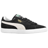 Puma Suede Black And White