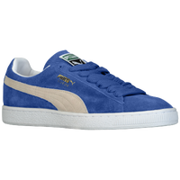 PUMA Suede Classic Eco - Men's - Blue / Off-White