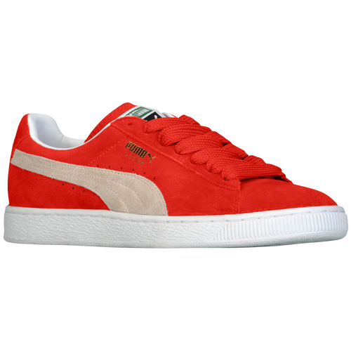 Puma Suede Red Shoes