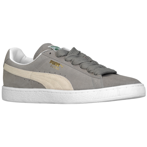 puma suede grey white