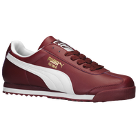 PUMA Roma Basic - Men's - Maroon / White