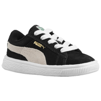 PUMA Suede Classic - Boys' Preschool - Black / Grey