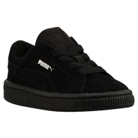 PUMA Suede Classic - Boys' Toddler - All Black / Black