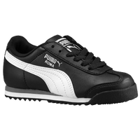 PUMA Roma - Boys' Grade School - Black / White