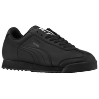 PUMA Roma - Boys' Grade School - All Black / Black