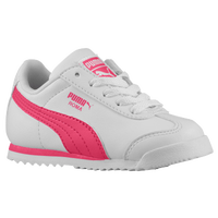 PUMA Roma - Girls' Toddler - White / Pink