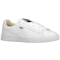 PUMA Basket Classic - Men's - White / Gold