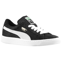 PUMA Suede Classic - Boys' Grade School - Black / White