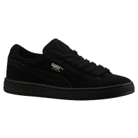 puma suede gray black