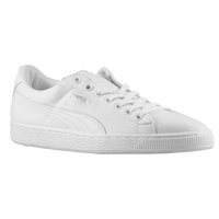 PUMA Basket Classic - Men's - All White / White
