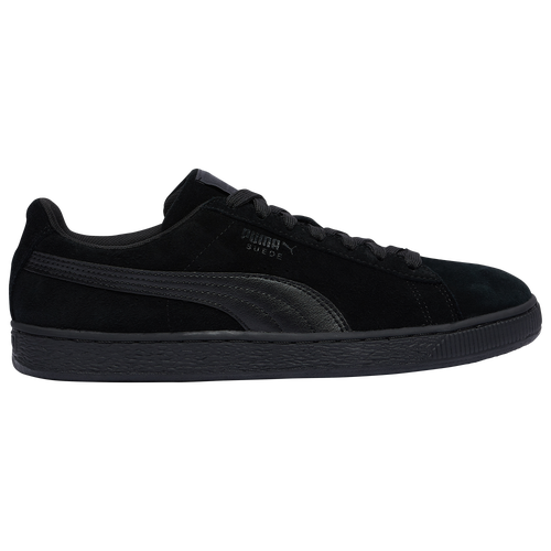 mens black puma suede
