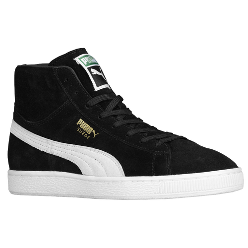 puma suede mid men