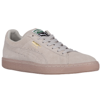 PUMA Suede Classic - Men's - Grey / Gold
