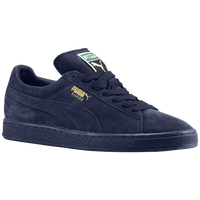 PUMA Suede Classic - Men's - Navy / Gold