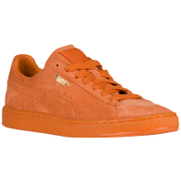 PUMA Suede Classic - Men's - Orange / Orange