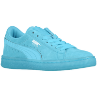 PUMA Suede Classic - Boys' Grade School - Light Blue / Light Blue