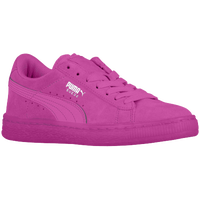 PUMA Suede Classic - Girls' Grade School - Purple / Purple