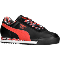 PUMA Roma - Boys' Grade School - Black / Red
