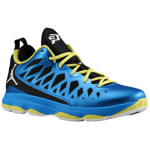 Jordan CP3.VI - Men's - Photo Blue/White/Black/Yellow