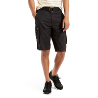 Levi's Snap Cargo Short - Men's - All Black / Black