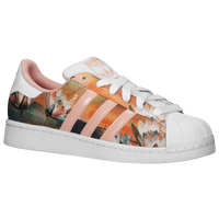 adidas Originals Superstar - Women's - Pink / White