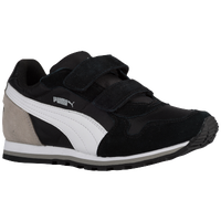 PUMA ST Runner - Boys' Toddler - Black / White