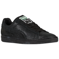 PUMA Suede Classic - Women's - All Black / Black