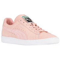 PUMA Suede Classic - Women's - Pink / White