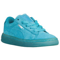 PUMA Suede Classic - Boys' Toddler - Light Blue / Light Blue