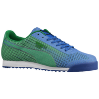 PUMA Roma Basic - Men's - Blue / Light Green