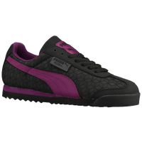 PUMA Roma Basic - Women's - Black / Purple