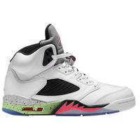 Jordan Retro 5 - Men's - White / Red